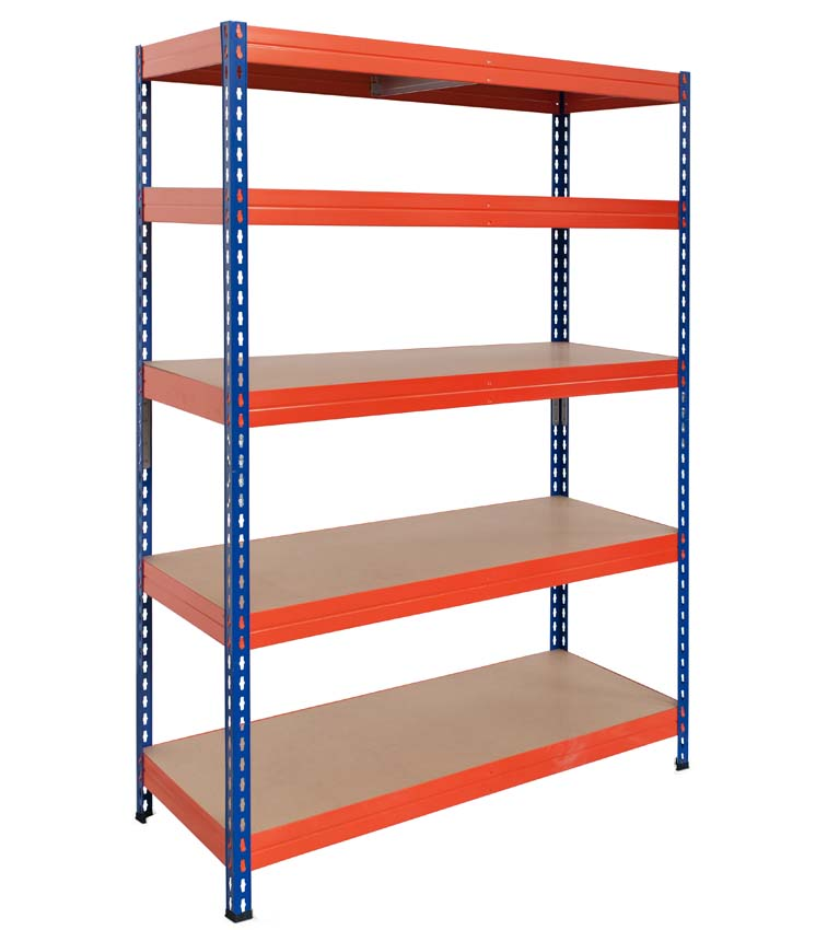 Rivet stabil shelving