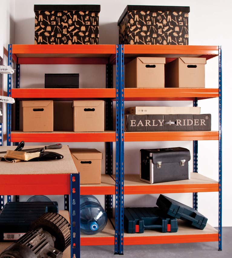 Stabil shelving garage