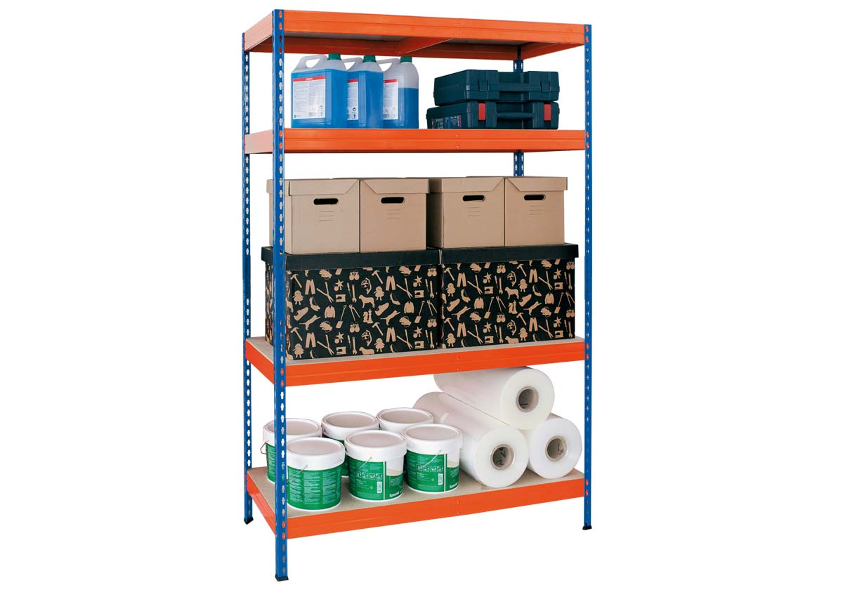 Stabil classic metal shelving for garag